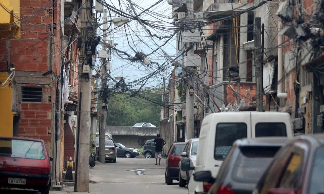 Gardênia Azul, na Zona Oeste: área é dominada por milicianos Foto: Fabiano Rocha / Agência O GLOBO