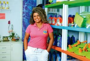 Ana Paula decidiu-se por uma franquia da IGui pela facilidade de contato com a fábrica Foto: dIVULGAÇÃO