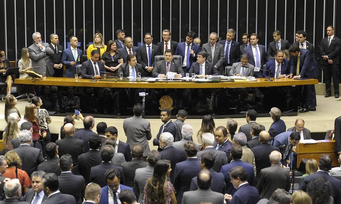 Plenário da Câmara Foto: Jonas Pereira/Agência Senado