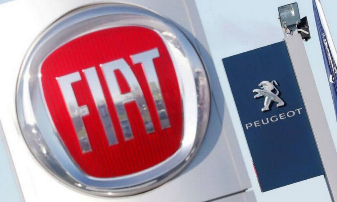 FCA, dona da Fiat, e PSA, dona da Peugeot, anunciam fusão Foto: Reuters