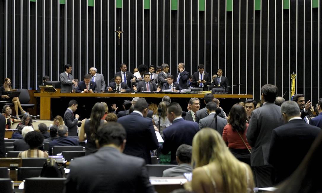 O plenário do Senado Federal Foto: Jonas Pereira/Agência Senado