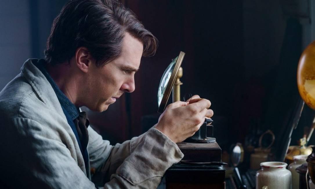 """Benedict Cumberbatch em cena do filme """"A batalha das correntes"""" Foto: Divulgação"""