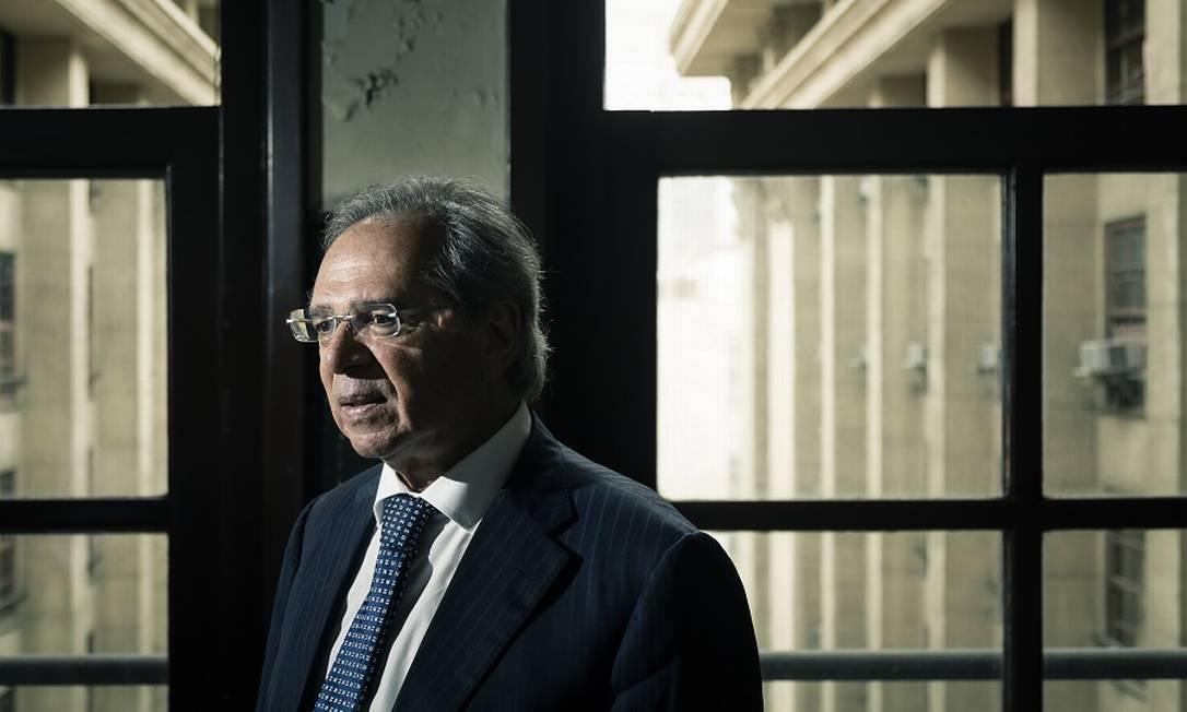 Segundo ministro, PIB será melhor em 2020. Foto: Leo Martins / Agência O Globo