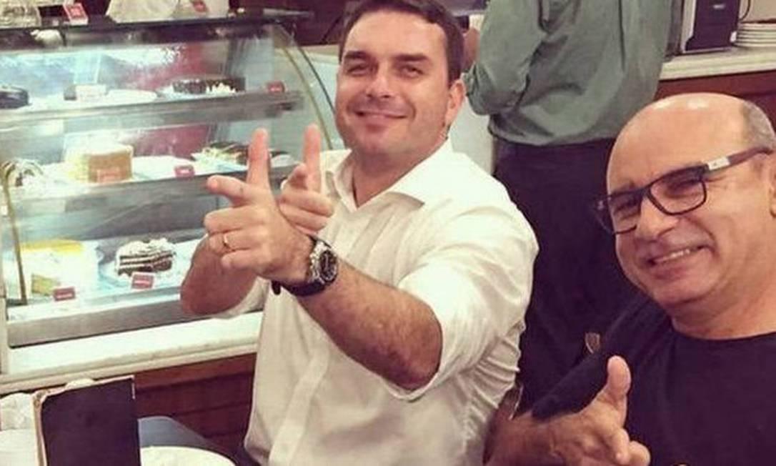 Queiroz é ex-motorista e ex-segurança do senador Flávio Bolsonaro, filho do presidente Foto: Reprodução