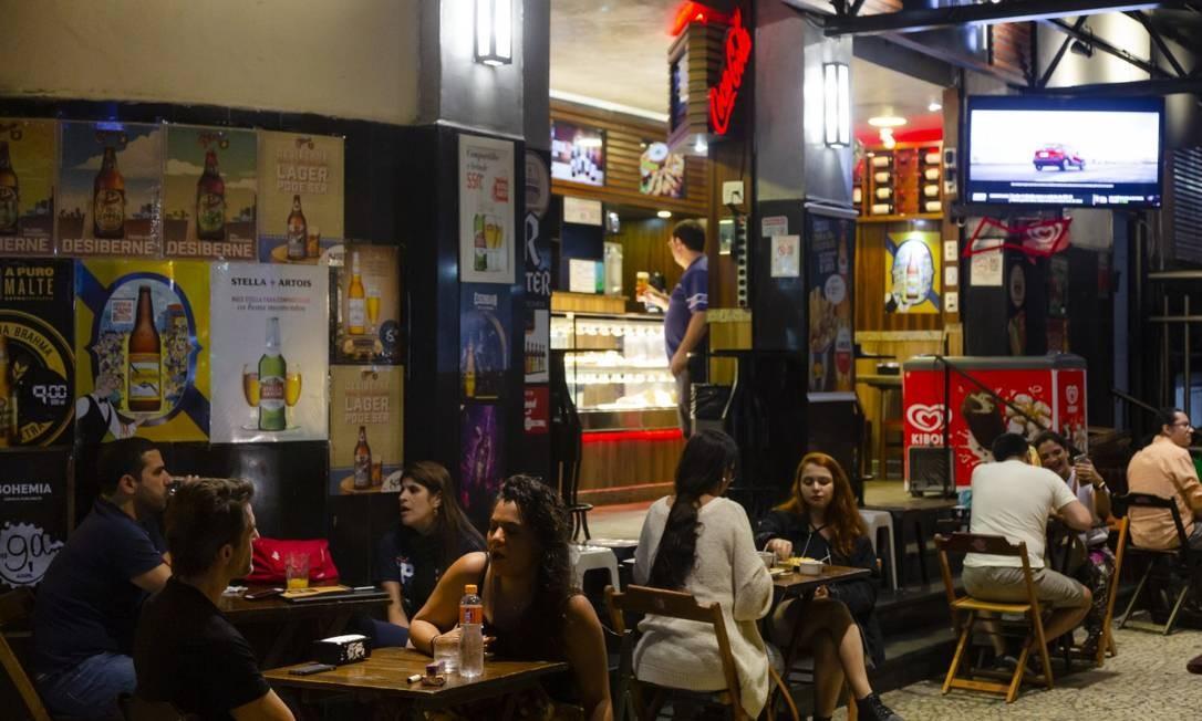 Bar Leme Light Foto: Agência O Globo/Leo Martins