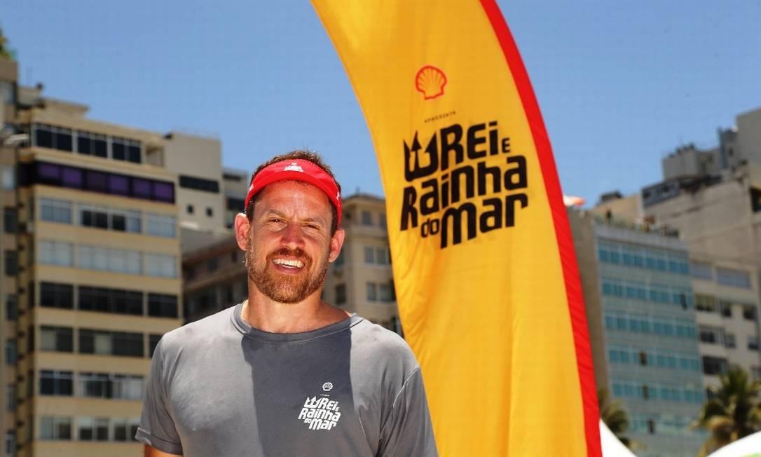 CEO da Effect Sport, organizadora do evento, Pedro Rego Monteiro destacou a sinergia do evento com o que a Shell acredita e valoriza Foto: Marco Sobral/G.LAB