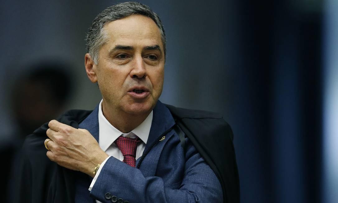 O ministro Luis Roberto Barroso. Foto: Jorge William / Agência O Globo