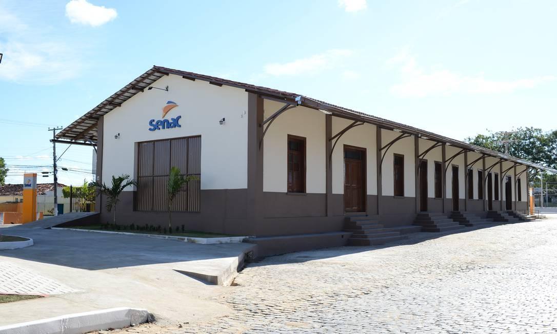 Nova unidade na cidade de Amargosa tem capacidade para atender mil alunos por ano Foto: Divulgação Senac
