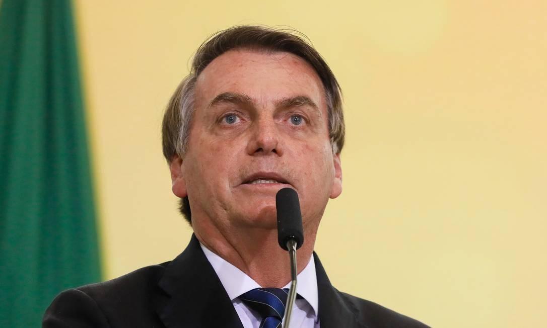 Bolsonaro afirmou que a sanção do projeto pode acontecer depois do Natal Foto: Isac Nóbrega/PR