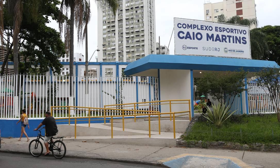 As condições do complexo esportivo do Caio Martins são investigadas pela Promotoria de Justiça de Tutela Coletiva de Cidadania do MPRJ. Foto: Pedro Teixeira / Agência O Globo