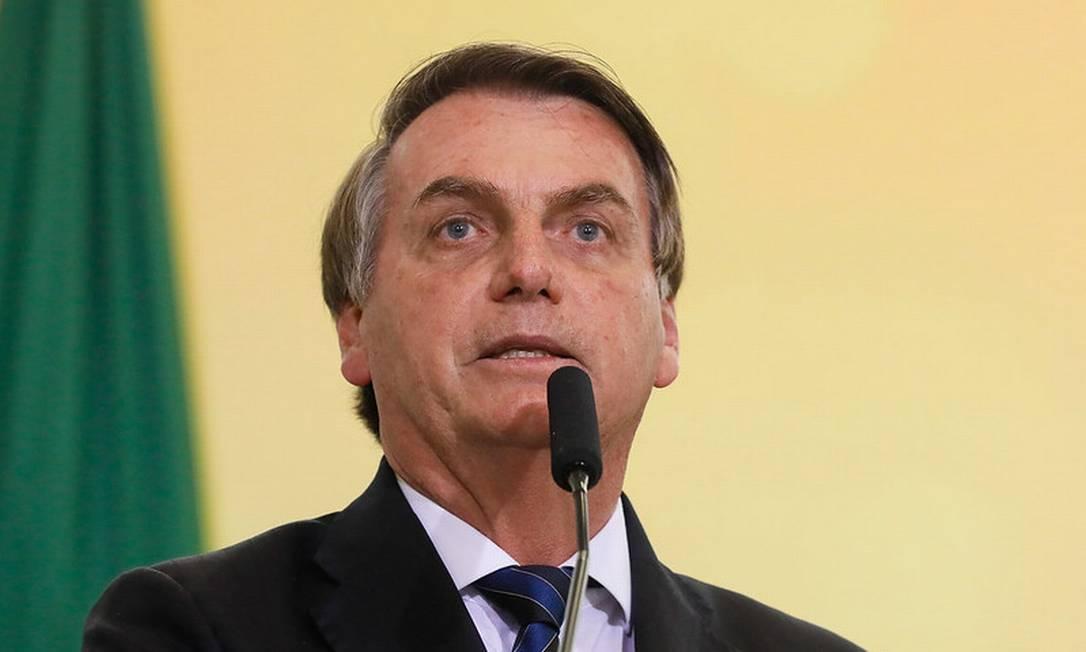 O presidente Jair Bolsonaro 19/12/2019 Foto: Divulgação