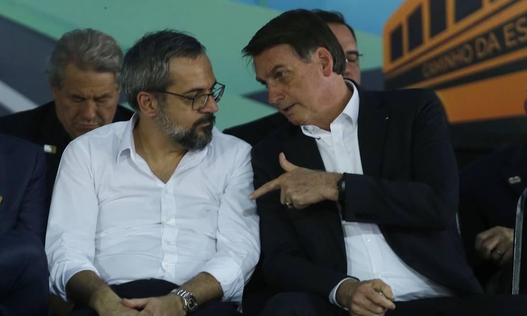 Irritação de Bolsonaro com Weintraub aumenta alguns decibéis - Época