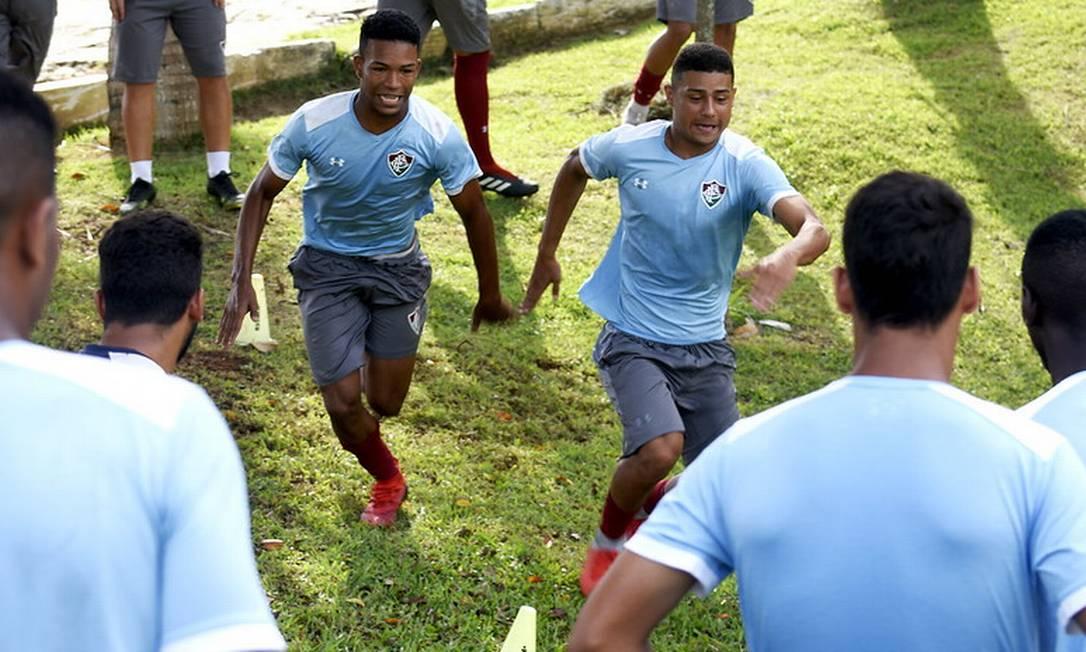 Wallace e André estão na mira do Liverpool Foto: Mailson Santana/Fluminense FC
