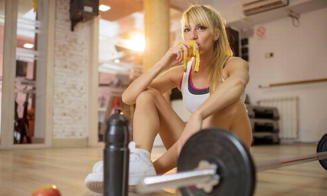 Tão importante quanto antes do exercício, a alimentação pós-treino também deve ser bem realizada Foto: Getty Images