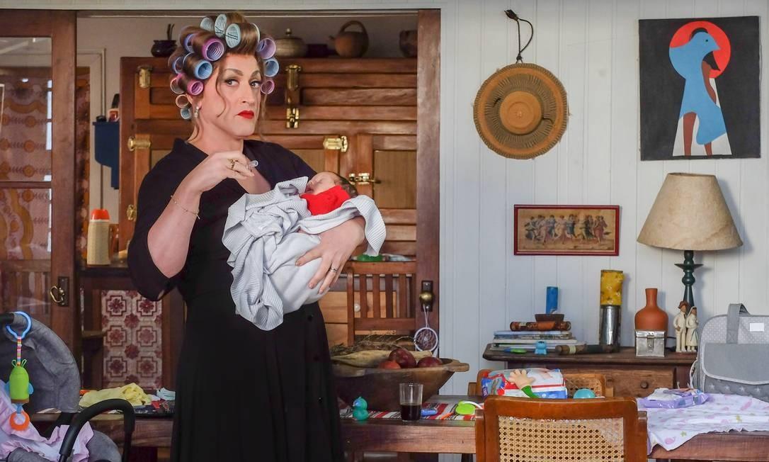 Paulo Gustavo como Dona Hermínia, em cena do filme 'Minha mãe é uma peça 3' Foto: Marco Antonio Teixeira