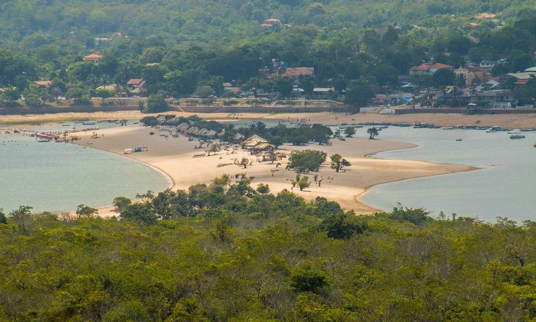 Alter do Chão, em Santarém, Pará Foto: Tiago Silveira / Ministério do Turismo / Divulgação