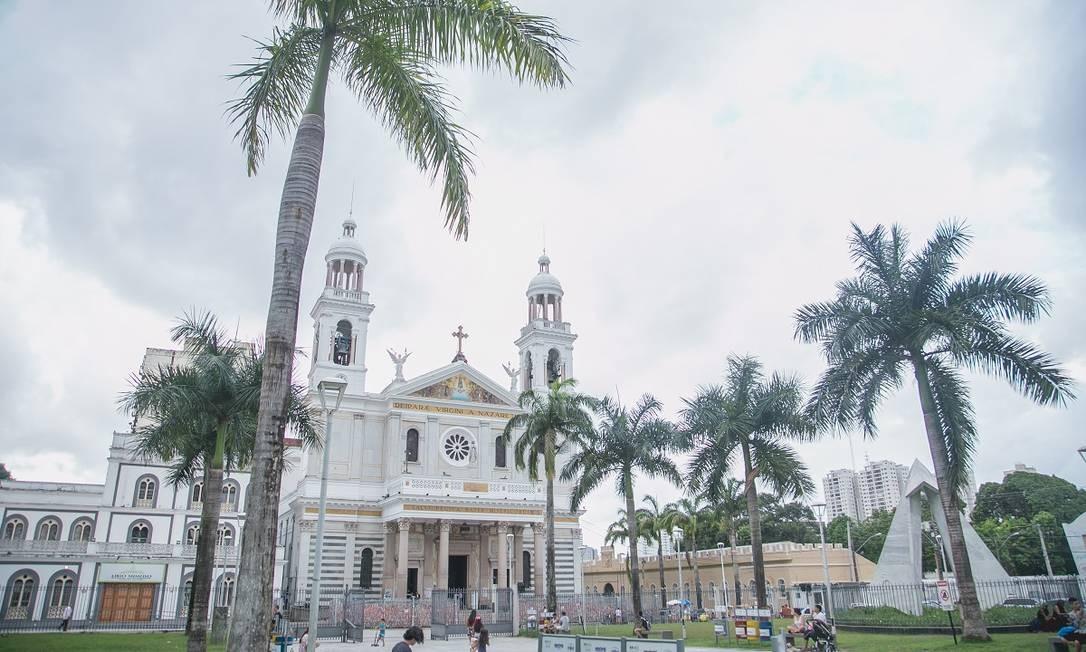 Basília de Nossa Senhora de Nazaré, em Belém do Pará Foto: Bruna Brandão / Ministério do Turismo / Divulgação