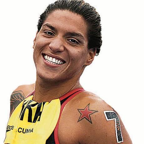 A nadadora Ana Marcela Cunha Foto: Satiro Sodré / Divulgação