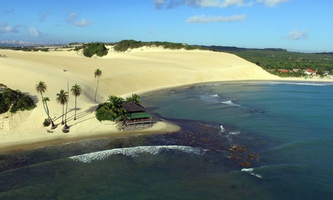 As dunas de Genipabu, em Natal, Rio Grande do Norte Foto: Ney Douglas / Ministério do Turismo / Divulgação