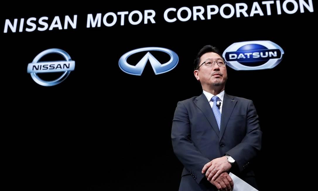 Jun Seki: diretor de operações da Nissan está de saída. Foto: Kim Kyung Hoon / REUTERS