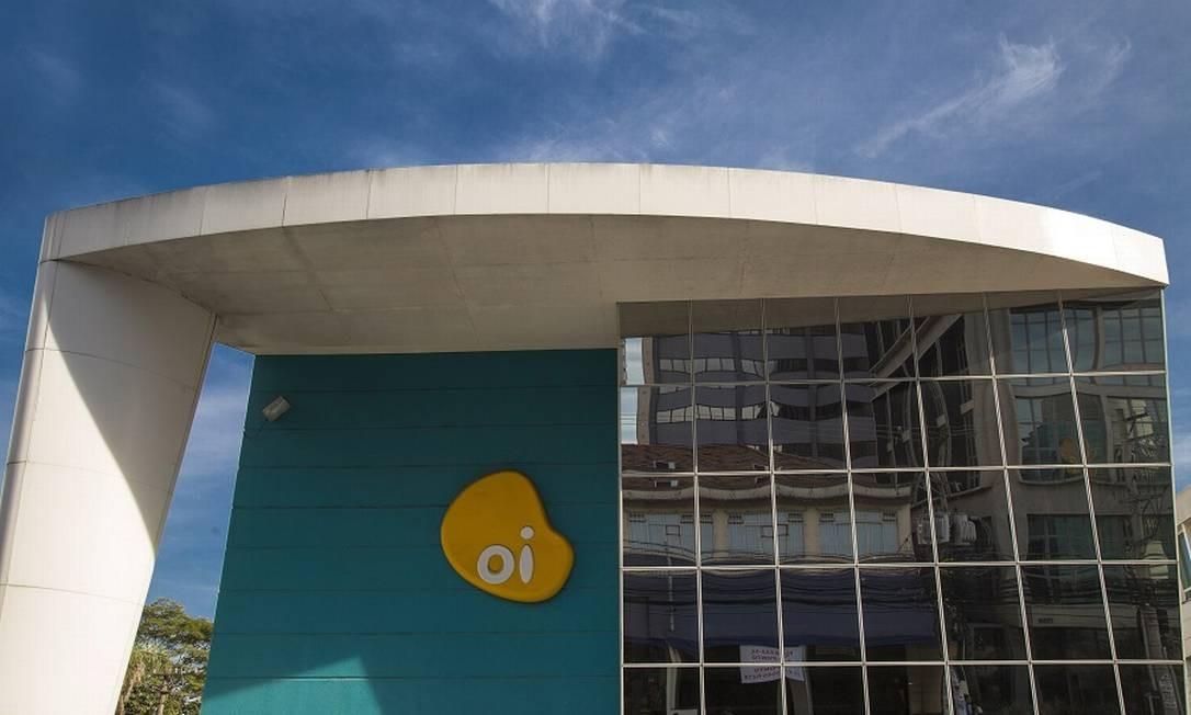 Oi: incertezas podem atrapalhar leilão da quinta geração de telefonia e internet sem fio Foto: Edilson Dantas / Agência O Globo
