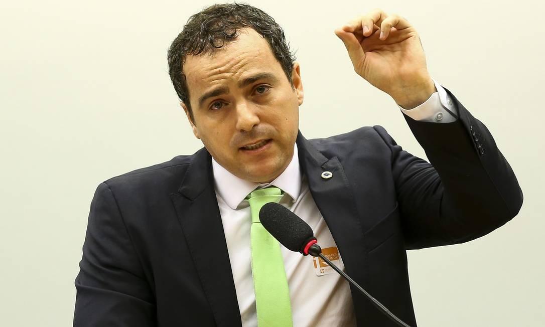 O presidente do Ibama, Eduardo Fortunato Bim, durante audiência na Câmara Foto: Marcelo Camargo/Agência Brasil/22-10-19 / Agência O Globo