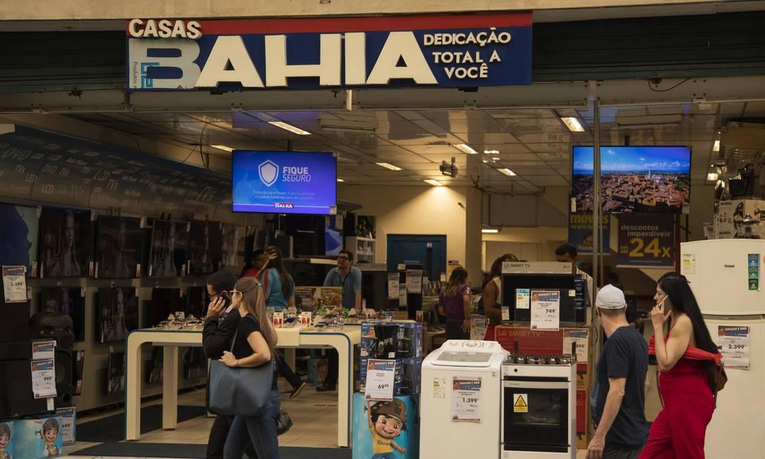 Casas Bahia terá ofertas diárias até 31 de dezembro Foto: Gabriel Monteiro
