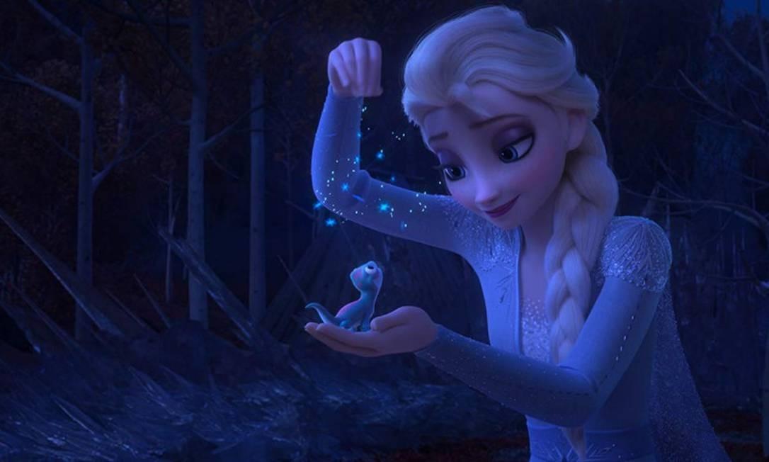 """Cena do filme """"Frozen 2"""" Foto: Divulgação / Divulgação"""