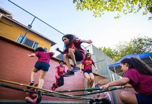 Sesi Jacarepaguá: colônia de férias oferecida pela Firjan tem atividades para crianças de 3 a 14 anos Foto: Paula Johas / Divulgação