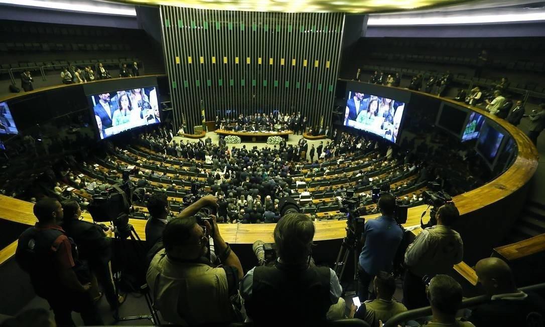 Deputados viajaram em 490 missões oficiais em 2019 Foto: Jorge William/Agência O Globo