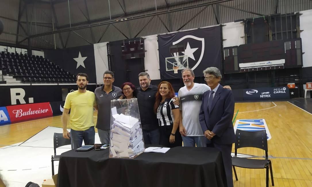 Assembleia Geral do Botafogo aprova mudança do futebol para clube-empresa Foto: Vitor Seta