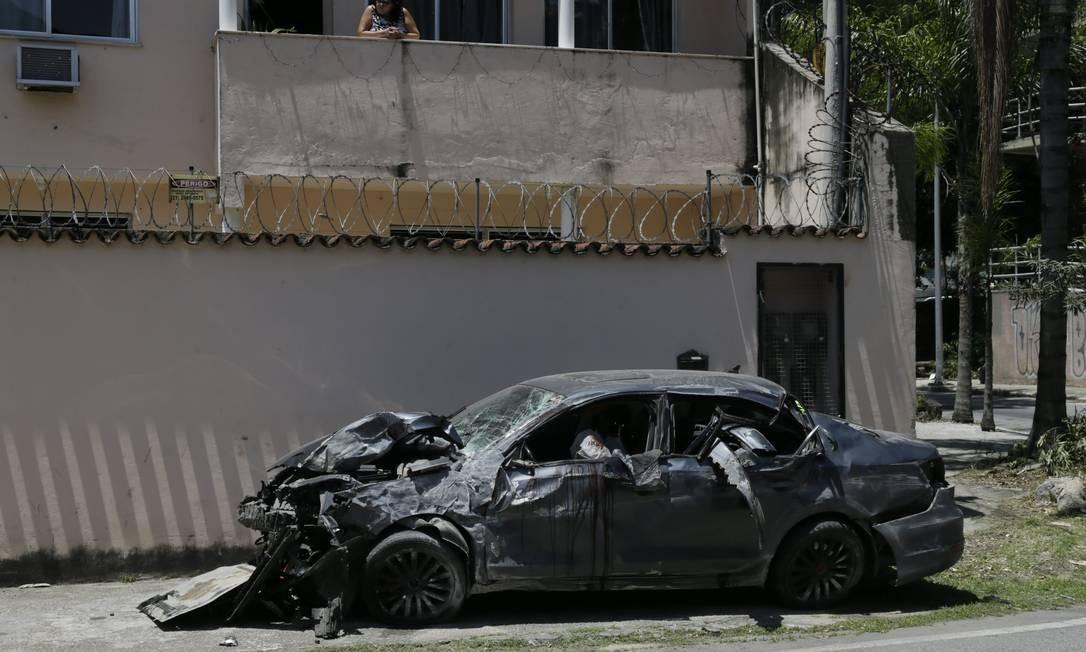 Acidente deixa cinco mortos na Linha Amarela em 8 de dezembro deste ano Foto: Custódio Coimbra / Agência O Globo