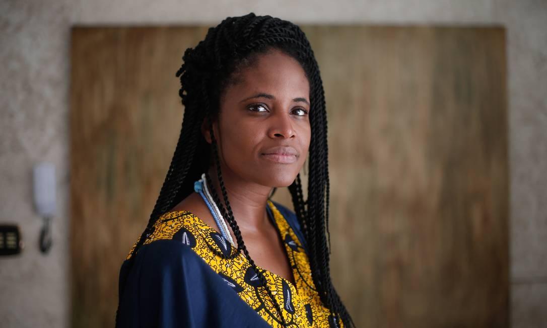 A escritora Djamila Ribeiro Foto: Marcos Alves / Agência O Globo