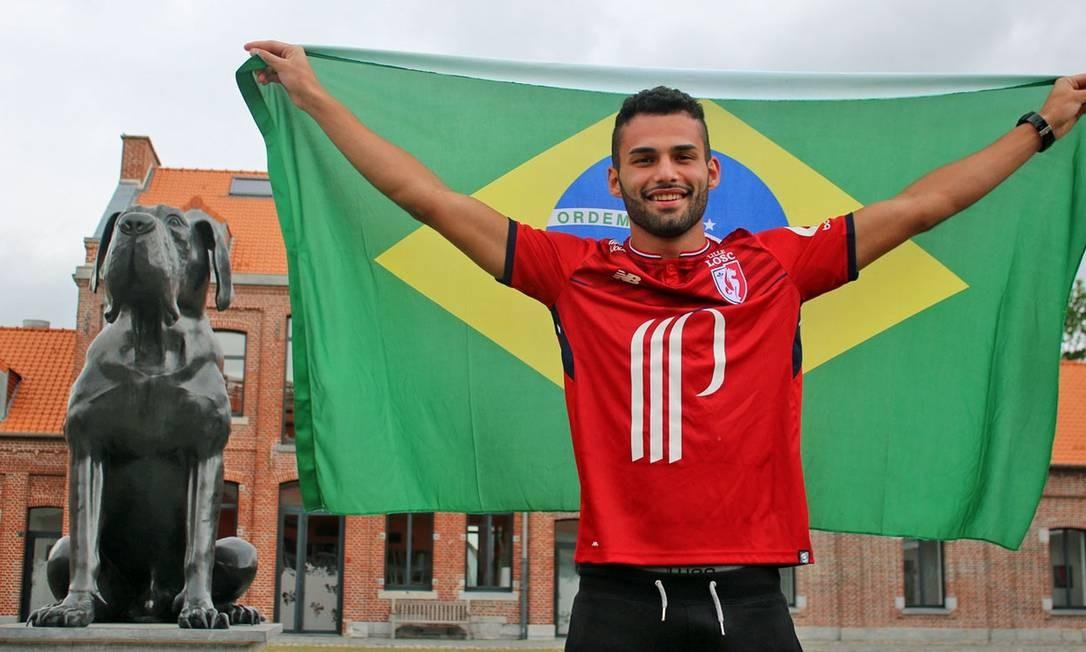 Thiago Maia próximo do Flamengo Foto: Divulgação