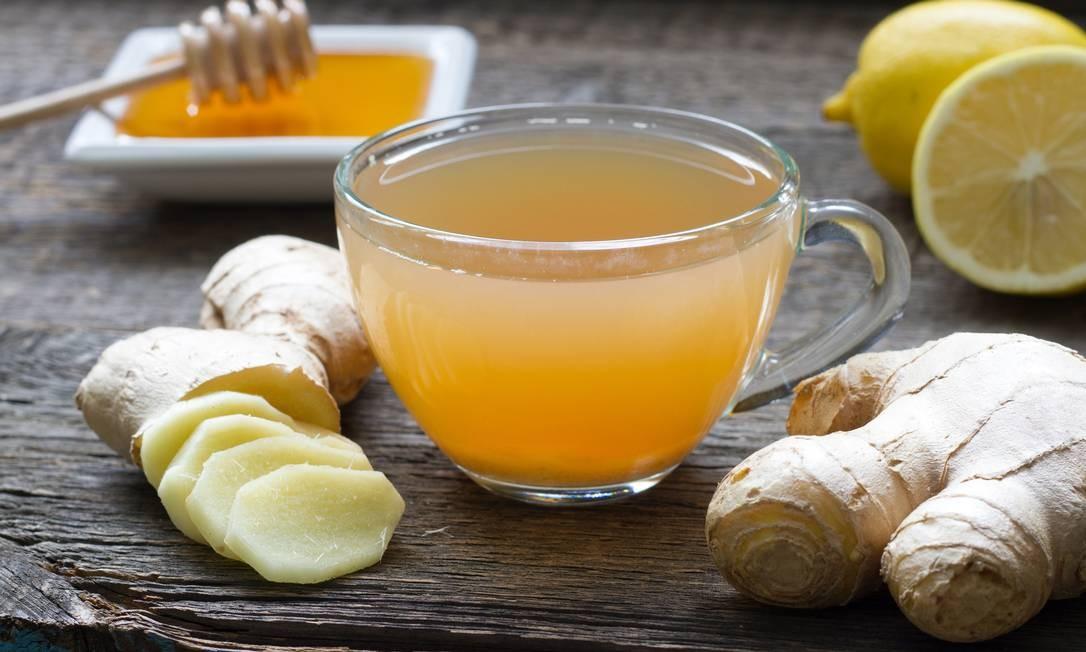 Chá de gengibre Foto: Getty Images/iStockphoto