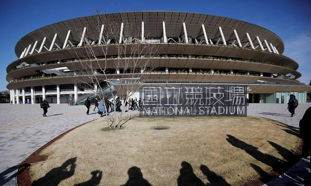 Estádio Nacional, em Tóqui Foto: ISSEI KATO / REUTERS