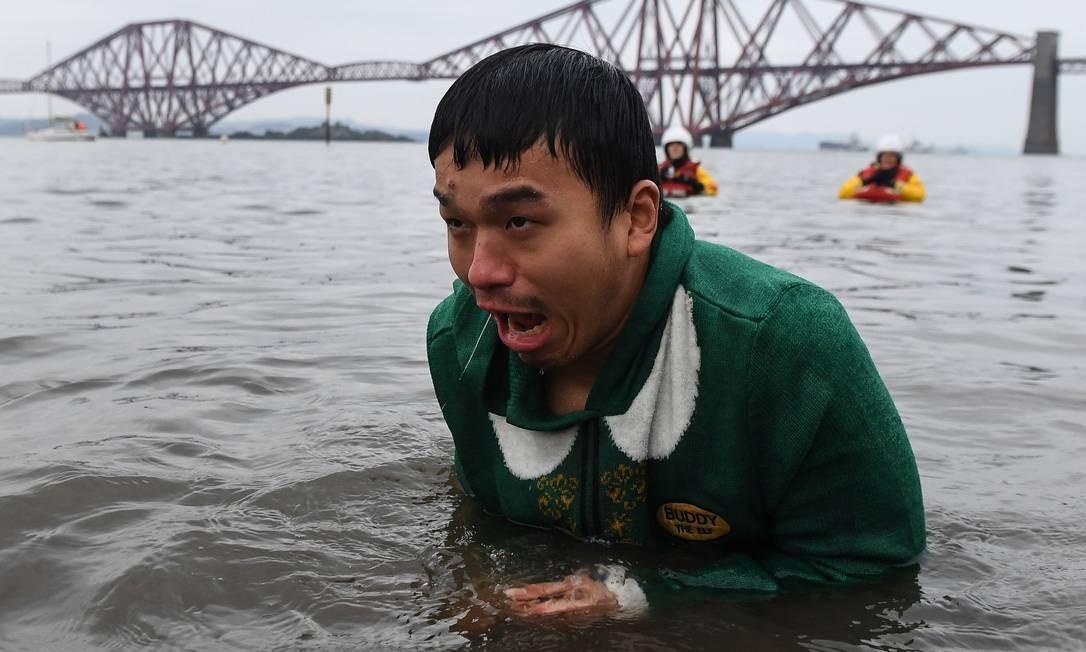 Quando uma imagem vale mais do que mil palavras Foto: Andy Buchanan / AFP