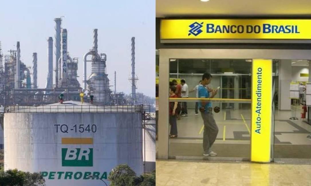 Petrobras e Banco do Brasil registraram aumento em incentivos via Lei Rouanet Foto: Edilson Dantas/Agência O Globo e divulgação