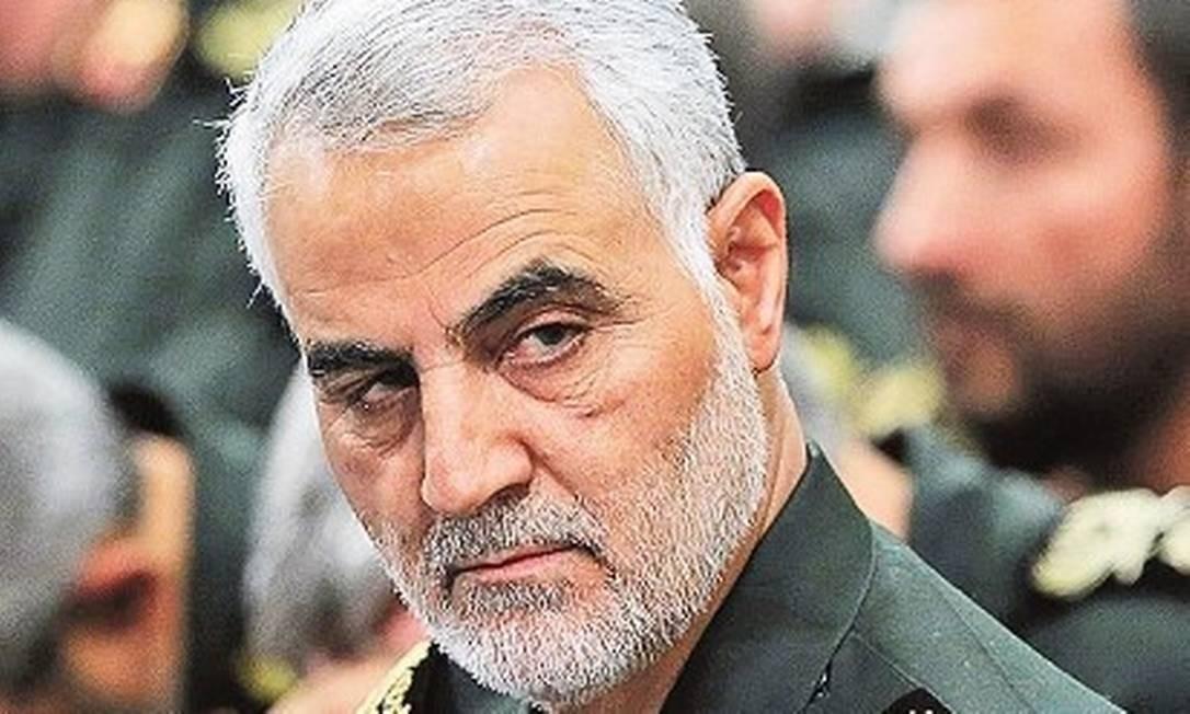 O brigadeiro-general Qassen Suleimani Foto: Reprodução