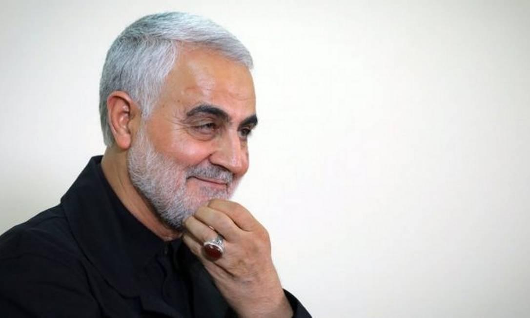 O general Qasem Soleimani comandava operações militares iranianas no Oriente Médio Foto: AFP