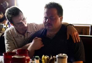 Sam Rockwell e Paul Walter Hauser em 'O caso Richard Jewell', de Clint Eastwood Foto: Divulgação