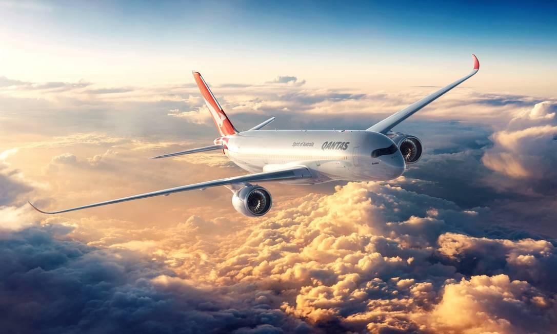 Qantas é a companhia área mais segura Foto: Divulgação/Qantas