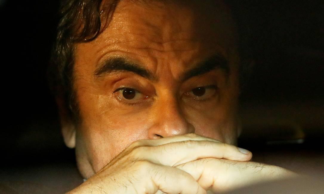 Fuga do Japão foi capítulo mais espetacular do drama vivido por Carlos Ghosn Foto: Issei Kato / REUTERS