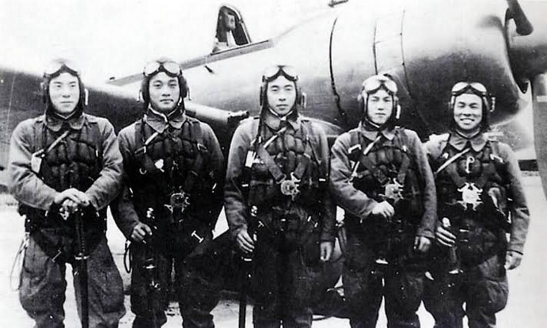 kamikazes na Segunda Guerra Foto: Arquivo