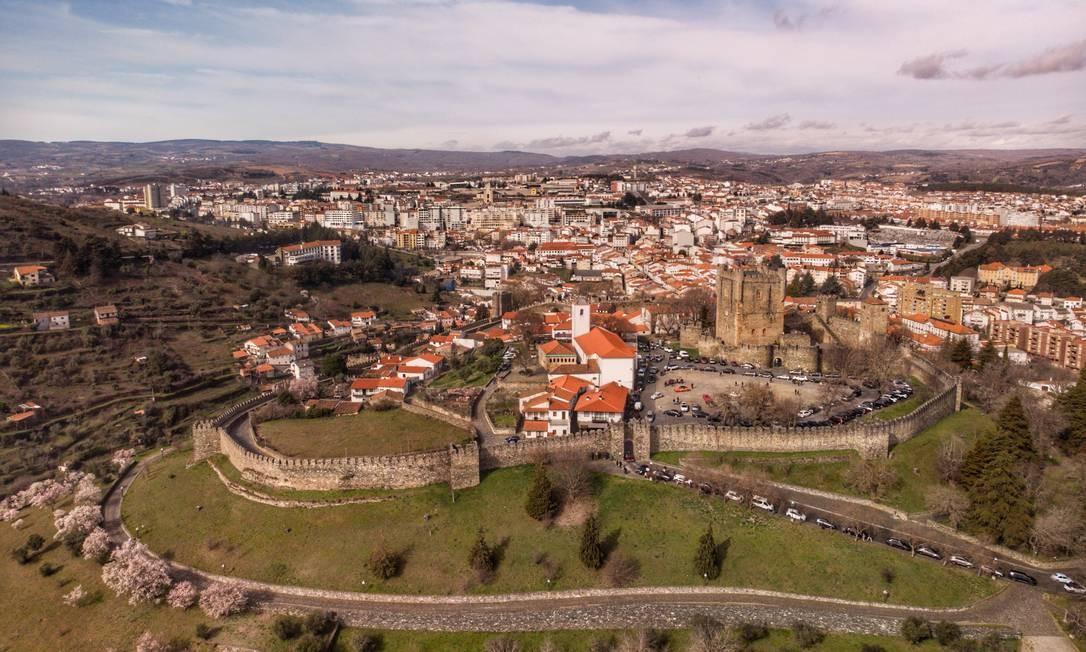 A cidade de Bragança, no interior de Portugal Foto: António Lencastre / EyeEm / Agência O Globo