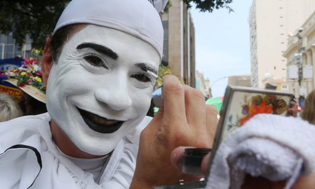 Bloco Fridas, Praça XV Foto: Agência O Globo/Fabiano Roch