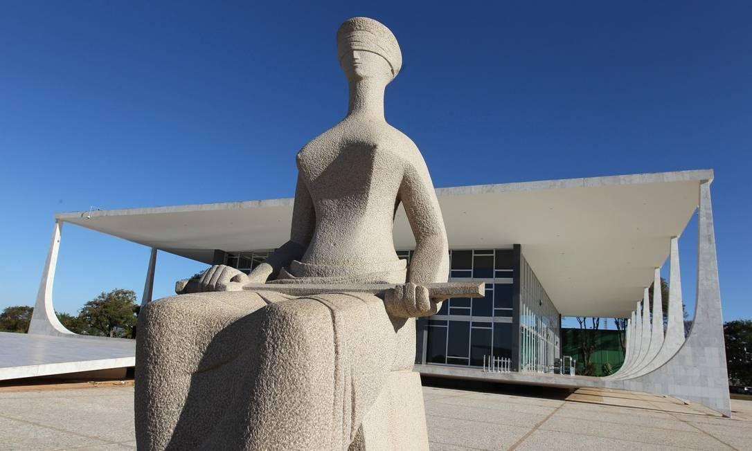 Fachada do Supremo Tribunal Federal, em Brasília Foto: Divulgação