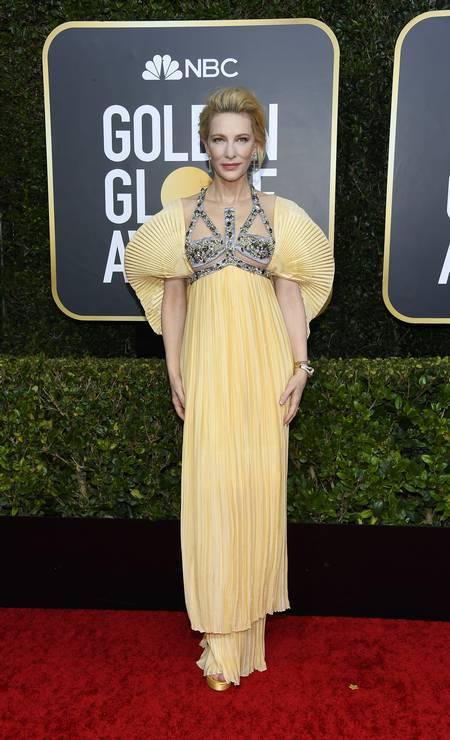 Cate Blanchett, de Mary Katrantzou Foto: Kevork Djansezian/NBC / NBCU Photo Bank via Getty Images