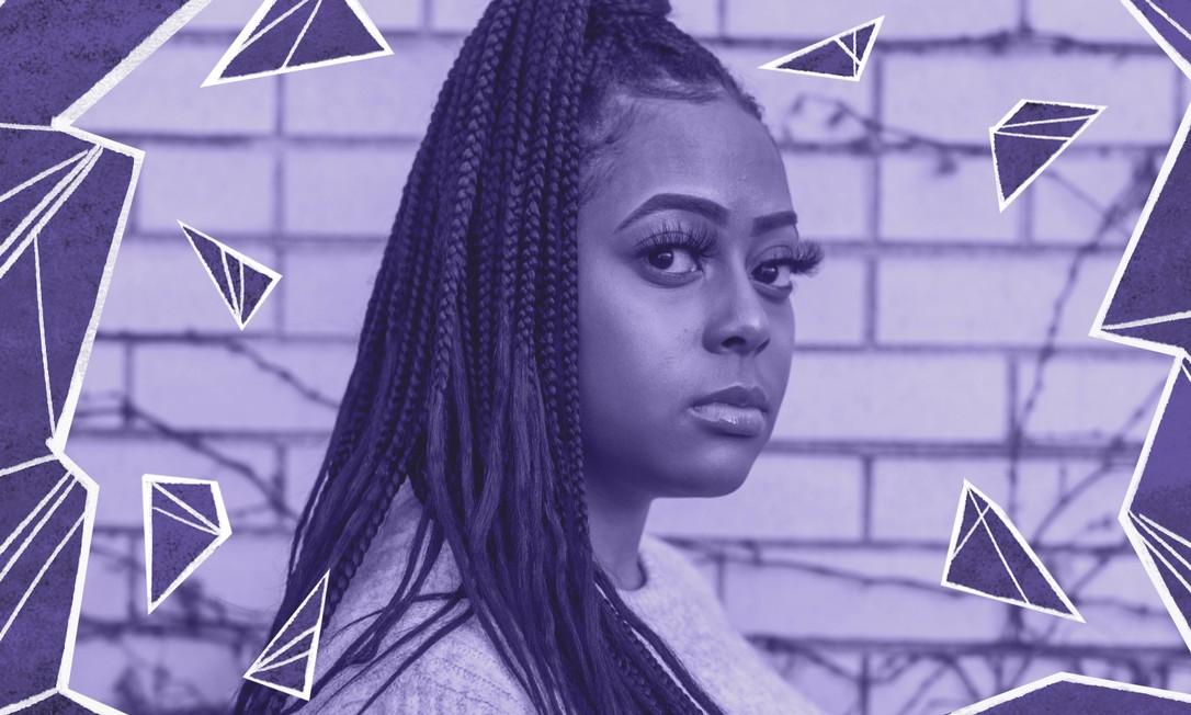 Payton Wade, veterana da UW-Madison e integrante da Alpha Kappa Alpha, uma irmandade universitária historicamente composta por mulheres negras, se revoltou com o vídeo publicado pela comissão de boas-vindas e deu início à onda de críticas após uma publicação sua no Facebook Foto: LIANNE MILTON / NYT