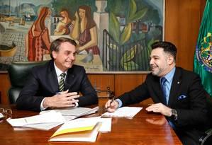 Deputado declarou 'apoio irrestrito' ao presidente Jair Bolsonaro Foto: Carolina Antunes/PR
